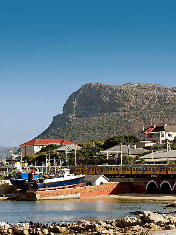 The Kalk Bay Harbour and Dry Docks