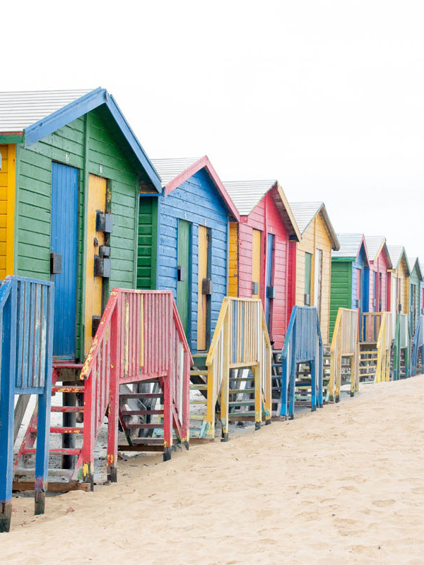 The Famous Muizenberg Beach Huts